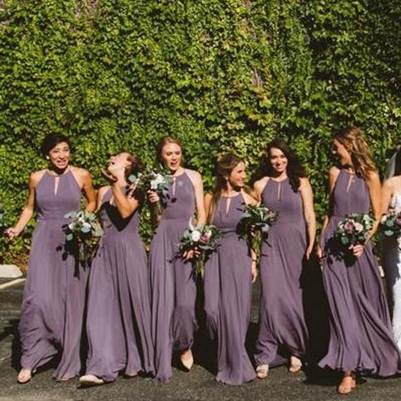 c2eef74f93 After Six Dresses | Dessy Chiffon Bridesmaid Dress 1502 | Poshmark